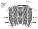 Fox Theatre Performance Seating Chart