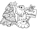 Merry Christmas Coloring Sheet