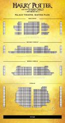 Palace Theatre, Seating Plan