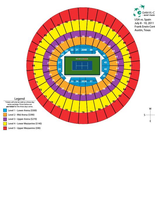 Frank Erwin Center Austin Seating Chart
