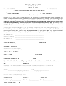 Application For Certificate Of Payment Form