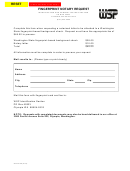 Fingerprint Notary Request Form