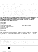 Military Spouse Preference Form