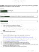 Fundraising - Krispy Kreme Application Form