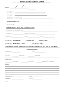 Form Board Survey Form
