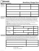 Form Dc-770-0113 - Nationwide Beneficiary Change Form