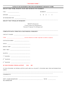 Faculty With Disabilities Pre-assignment Request Form