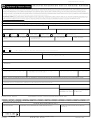 Va Form 21-2008 - Application For United States Flag For Burial Purposes