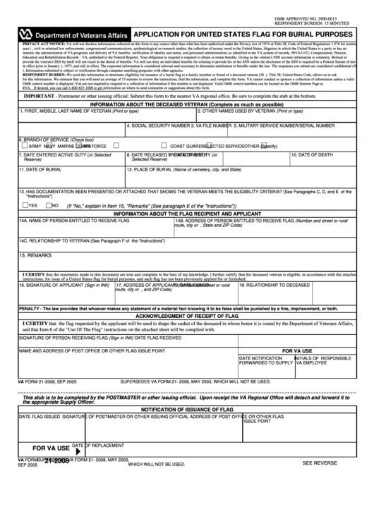 Top Va Form 21-2008 Templates free to download in PDF, Word and ...