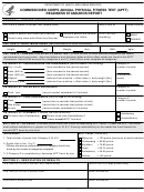 Form Phs-7044 - Commissioned Corps Annual Physical Fitness Test - Readiness Standards Report - Department Of Health And Human Services