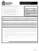Police Records Check Form