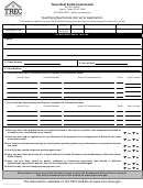 Qualifying Real Estate Instructor Application Form - Texas Real Estate Commission