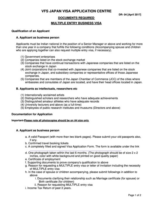 page_1_thumb_big Visa Application Form To Enter Japan Excel on
