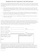 Compensatory Time Off Agreement Template