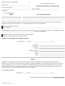 Fillable Form 122es - Motion For Service By Publication - County Of