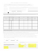 Cbi Form 6: Payment Affidavit Form - Subcontractor / Supplier Utilization (sbe/mbe)
