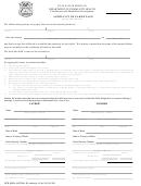 Affidavit Of Parentage
