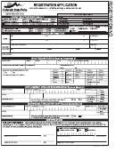 Registration Application Form