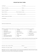 Kid's Climbing Registration Form