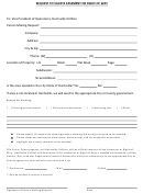 Easement Form