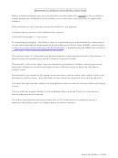 Affidavit Of Non-military Status