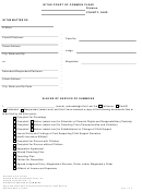 Ohio Waiver Of Service Of Summons - Uniform Domestic Relations Form
