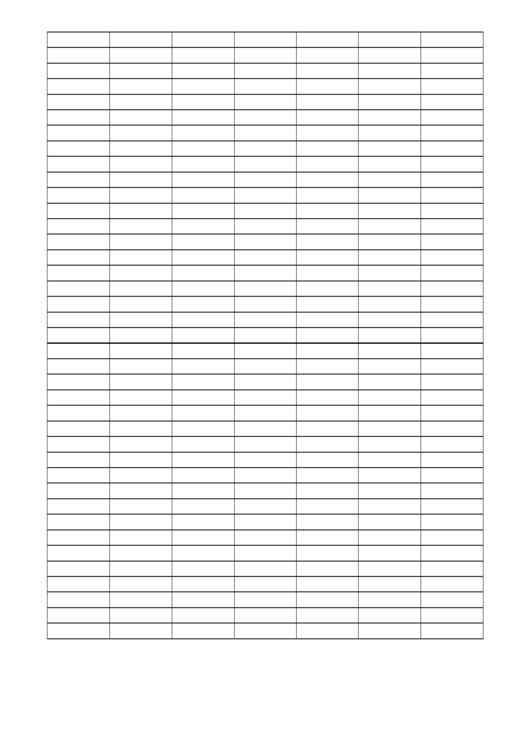 Graph Paper - 4x1 Grid Printable pdf