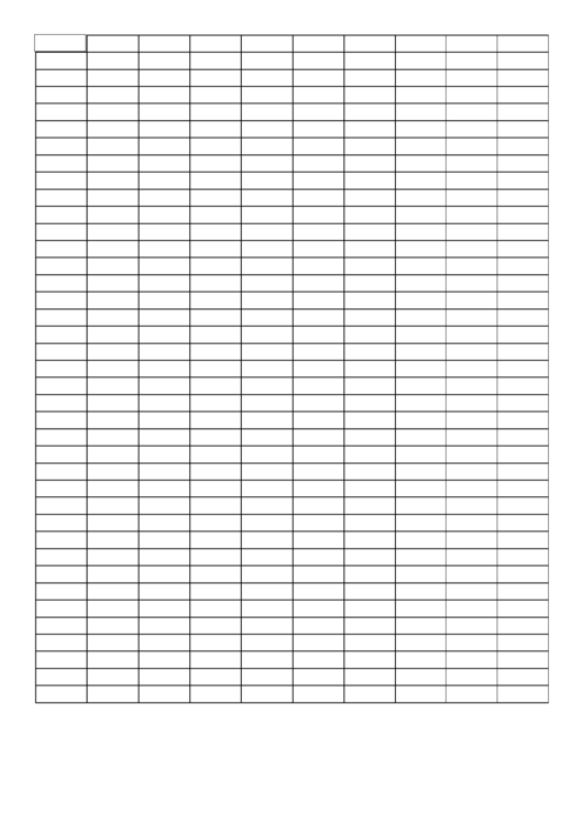 Graph Paper - 3x1 Grid Printable pdf