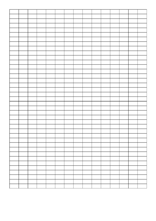 Graph Paper - 2x1 Grid Printable pdf