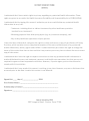 Patient Consent Form (hipaa)