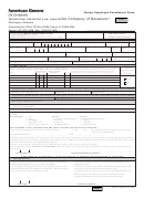 American General Life Insurance Company Of Delaware - Group Employee Enrollment Form
