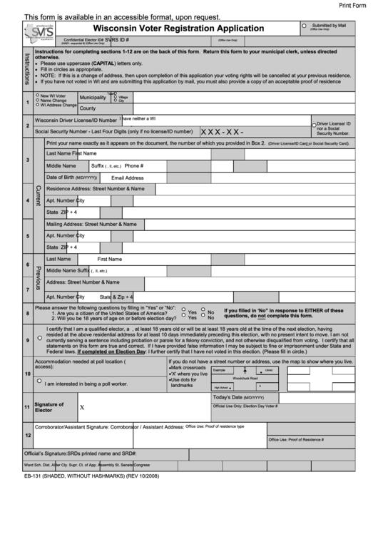 register to vote application form