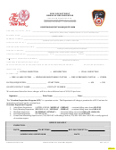 Request For Overtime Inspection - Fire Department