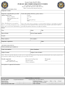 Canyon County Sheriff's Office - Public Records Request Form