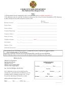 Fire Hydrant Flow Request Form
