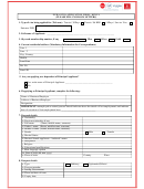 Dubai Visa Application Form - Kenya