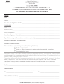 Form St-3nr (4-08, R-3) - Resale Certificate For Non-new Jersey Sellers