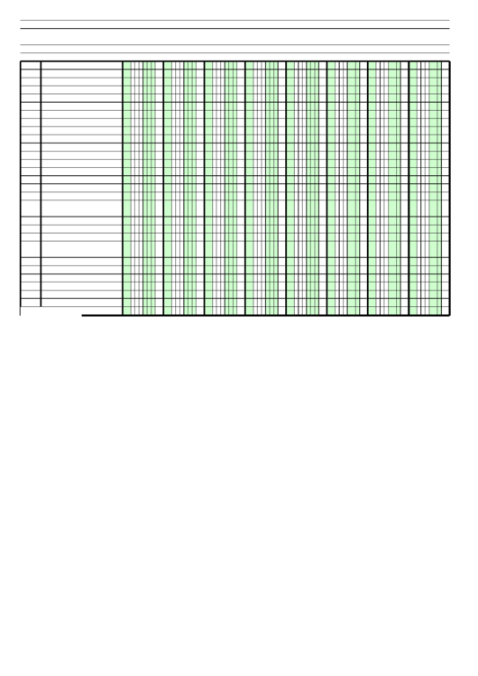 image about Printable Columnar Paper called Columnar Paper With 8 Columns Upon A4-Sized Paper Within