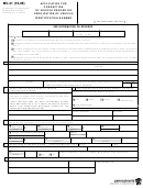 Form Mv-41 - Application For Correction Of Vehicle Record Or Verification Of Vehicle Identification Number