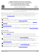 Uscis Form M-1163 - Optional Checklist For Form I-765 (c)(3)(b) Filings