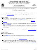 Uscis Form M-1162 - Optional Checklist For Form I-765 (c)(8) Filings