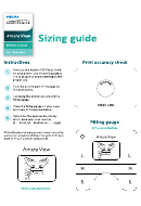 Amara View - Sizing Guide