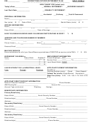 Input Form A - Corrections Officer Retirement Plan