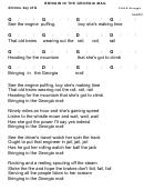 Flatt & Scruggs - Bringin' In That Georgia Mail Chord Chart