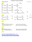 Carter Family - A Distant Land To Roam Chord Chart