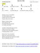 Fiddlin' Arthur Smith - Pig In A Pen Chord Chart