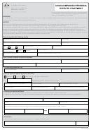 Unaccompanied Personal Effects Form