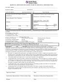 Medical Records Release Form Of Medical Information