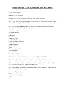 Hardship Letter Template With Guidelines