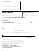 Form Quitclaim Deed - State Of California